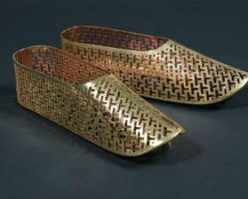 Gilt Bronze ornamental Shoes