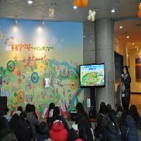 """2012/11/30 정화여자상업고등학교 3학년 """"한눈에 쏙~몽촌토성 첫걸음"""""""