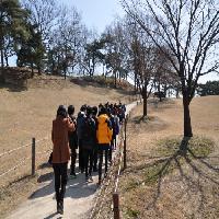 """2013/3/21 영동중학교 3학년 """"한눈에 쏙~몽촌토성 첫걸음"""""""