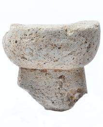 출토유물삼국시대 도로 출토 돌절구